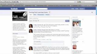TPLC Facebook Screencast