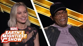 Hear What the Stars Have to Say About Captain Marvel | Earth's Mightiest Show