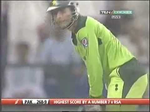 Abdul razzaq 109 not out  Pakistan Vs South Africa In abu Dhabi 2nd ODI 31st oct 2010
