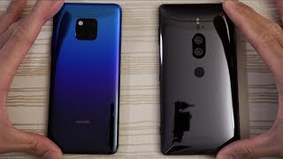 Huawei Mate 20 Pro vs Sony XZ2 Premium - Which is Faster?