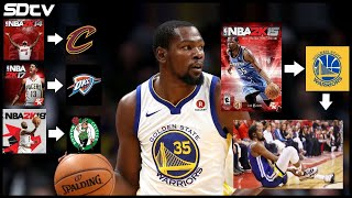 The History of the NBA 2K Cover Curse