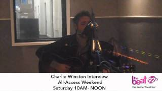 Charlie Winston Interview This Saturday on All-Access Weekend with Anne-Marie Withenshaw