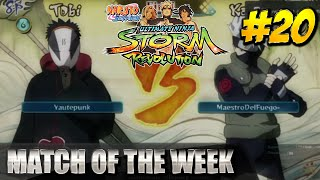 Naruto Storm Revolution - Match Of The Week #20 [Yautepunk vs MaestroDelFuego-]
