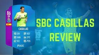 FIFA 18 | (86) Iker Casillas SBC Player Review