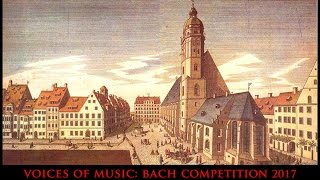 Bach Competition 2017: The Bach Cello Suites