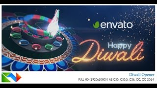 After Effects Template: Diwali Opener