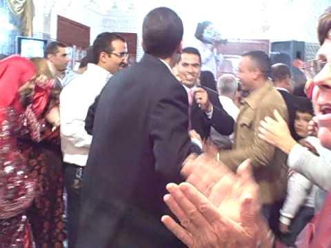 Dancing at a Moroccan Wedding Reception