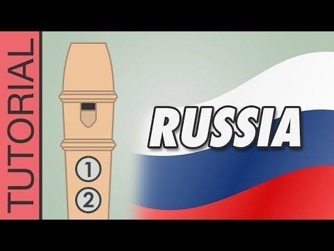 Comment jouer l'hymne russe à la flûte