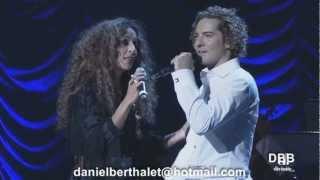 David Bisbal y Rosario.Lucía.