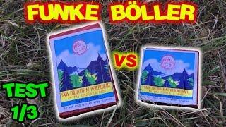 FUNKE D-Böller VS FUNKE Super Böller 2 | [Test 1/3] | Oldschool Böller