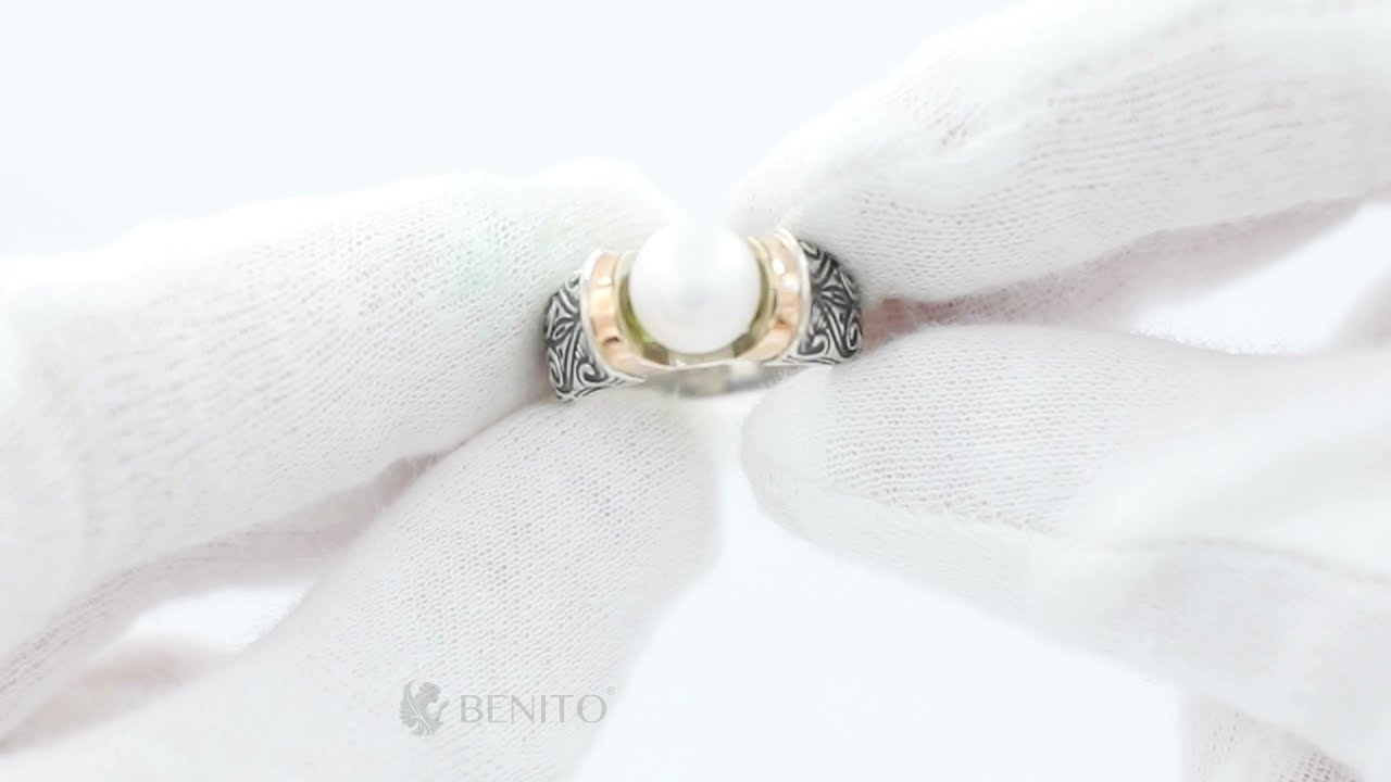 Marina Ring White Pearl