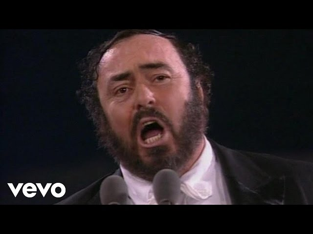 Vídeo de la canción O Sole Mio de Plácido Domingo