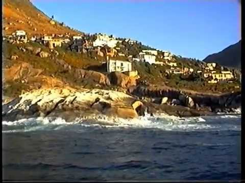 Cape Town coast in South Africa 1995
