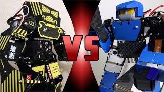 ROBOT FIGHT CLUB! -  Super Anthony VS LEO 28 (ULTIMATE ROBOT DEATH BATTLE!)