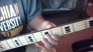 Rock Me On The Water Bass Cover