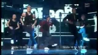 Eurovision 2011 Sweden - Eric Saade - Popular (Melodifestivalen Final)