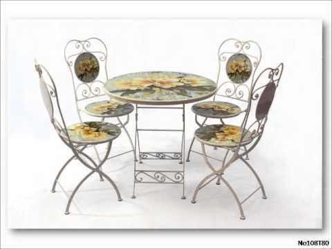 Masa Sandalye Ferforje Cafe ve Bahçe Mobilyası