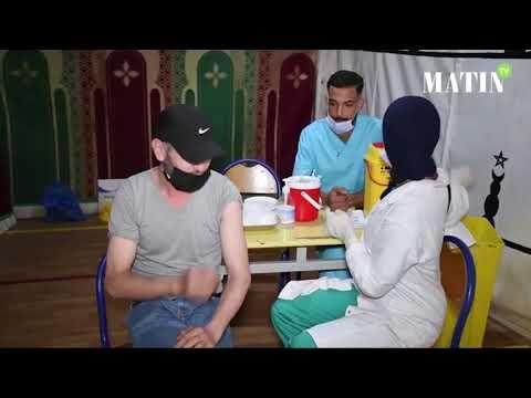 Video : Rush sur les centres de vaccination depuis le 21 octobre
