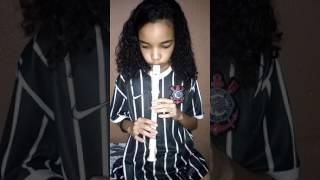 Hino do Corinthians Flauta Doce com Isadora Luíza Paroba