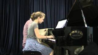 America, from West Side Story, piano 4-hands