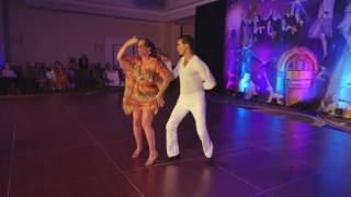 "2015 Pro Am ""Island Girl"" Showcase with Marcio Pereira and Christy Nilsen 