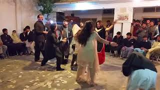 Pashto  D J Sound with local special dance in mardan width=