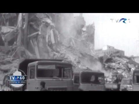 Cutremurul din 1977 - imagini nedifuzate până acum, din Arhiva TVR