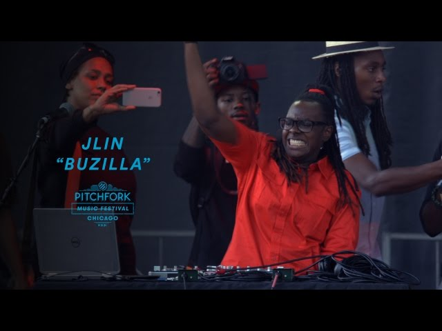 Video en directo de Jlin para Pitchfork Music Festival