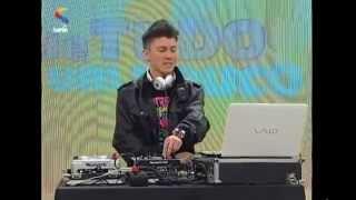DJ Matheus Lazaretti - Quero Te ter pra sempre no Programa De Tudo Um Pouco - TV Rede Super