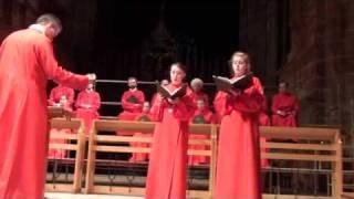 Ave Maria - Camille Saint-Saens, Chester Cathedral Choir
