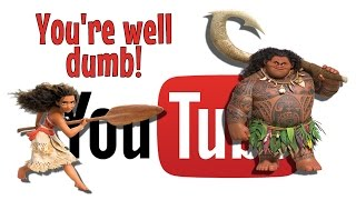 You're Well Dumb - Moana Parody Song (Disney)