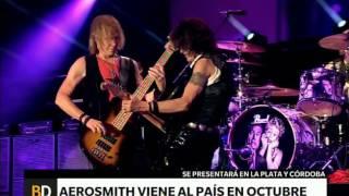 Aerosmith vuelve a la Argentina – Telefe Noticias