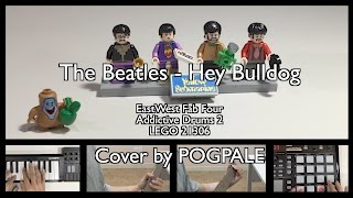 The Beatles - Hey Bulldog (EastWest Fab Four & Addictive Drums 2) Cover with LEGO 21306