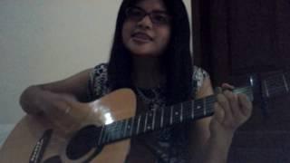 Locked Away - Adam Levine Guitar cover by Lidya Anitta