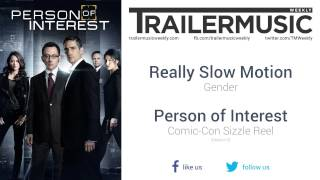 Person of Interest (Season 5) - Comic-Con Sizzle Reel Music (Really Slow Motion - Gender)