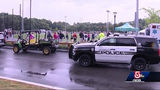 75 youth soccer teams braved rain to raise money for Sgt. Chesna's family