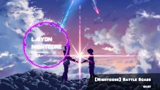NIGHTCORE - IanJ & Michael Edward  - Battle Scars [Remix]