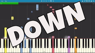 IMPOSSIBLE REMIX - Down - Marian Hill - Piano Cover