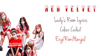 Red Velvet - Lady's Room Colour Coded Lyrics (Han/Eng/Rom)