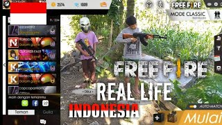Free Fire Real Life Indonesia