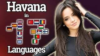 Singing Havana In 17 Different Languages With Zero Singing Skills