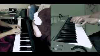 [Fate Zero ED3] 満天 Manten Piano Duet Cover