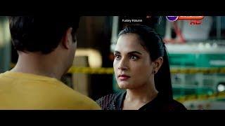 Varun Lip Kiss Scene Richa Chadda Fukrey Returns full scene width=