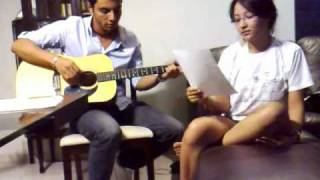 Camila Neves feat. Fausto Lagares - Valentine (Cover) by Kina Grannis