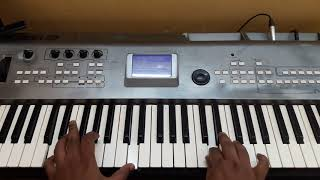Sandakozhi 2 | mass bgm | cover/ keyboard tutorial | vishal | yuvan shankar raja | Raj bharath |