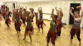 Dance rehearsal video Kaddu katega from R Rajkumar ! width=