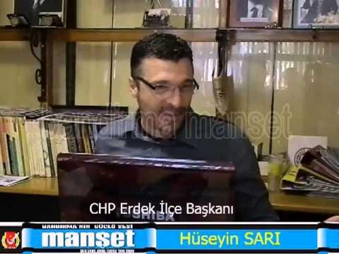 Hüseyin SARI CHP Erdek ilçe başkanı