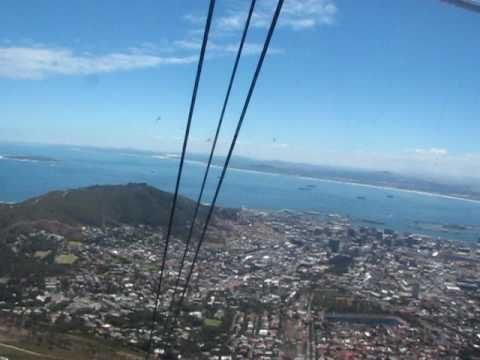 Cable Car up Table Mountain – Cape Town South Africa