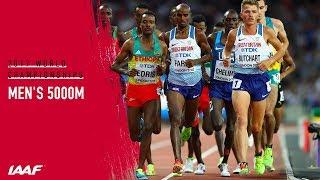 Men's 5000m Final | IAAF World Championships London 2017