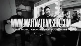 Matt Nathanson - Run (Acoustic at Radio City Music Hall)